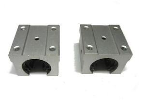 2pcs SBR16UU 16mm CNC Router Linear Ball Bearing Block
