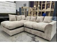 Brand new jumbo cord sofa sets💯top quality🔥🔥fast delivery 🚚🚚