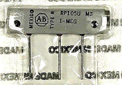 1Mohm 10% AB Allen-Bradley RP105U 25T Potentiometer Cermet Sealed Trimpot New