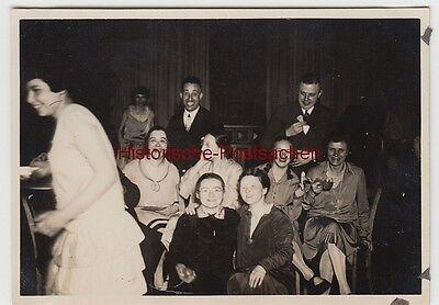 (F12339) Orig. Foto Abschiedsfest der Lehrgruppe UIIa 1929, mit Lehrern