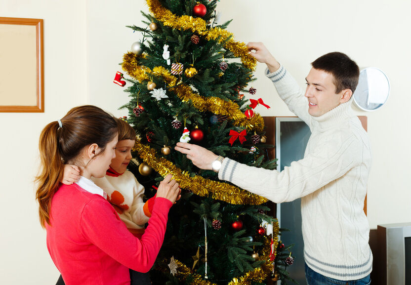 How To Decorate A Country Style Christmas Tree Ebay