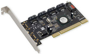 SYBA-Controller-Card-SY-PCI40010-4-x-Port-SATA-II-PCI-with-Software-RAID-Retail