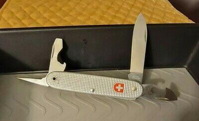 Wenger 1991 Soldier Alox Vintage Swiss Army Knife