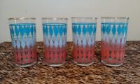 1950's Federal Glass co. Tumblers - set of 4