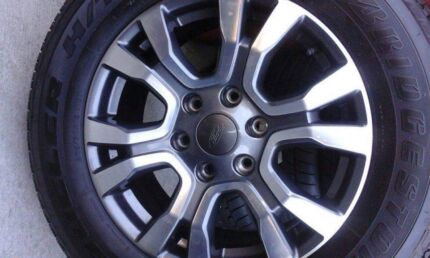 """Ford Ranger wild track wheels and tyres 18"""" brand new"""