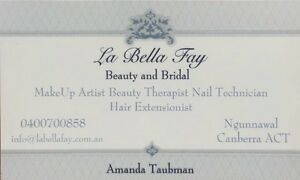 La Bella Fay Beauty and Bridal Palmerston Gungahlin Area Preview
