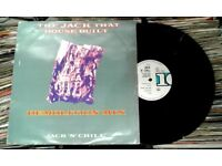 Jack 'N' Chill ‎– The Jack That House Built (Demolition Mix), VG, 12 inch single released ‎in 1987,