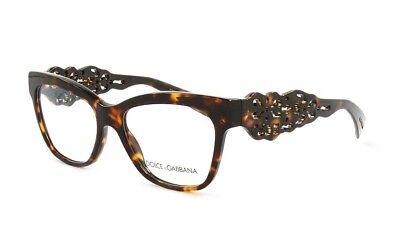 Dolce & Gabbana D&G DG3236 Eyeglasses Authentic Optical Frame 52mm
