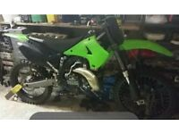 Kawasaki kx 250 2 stroke 2005 fresh not rmz cr yz rm kxf ktm crf qaud