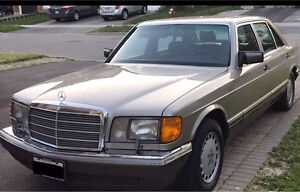 W126 1989 Mercedes Benz 420 SEL, Certified,E-tested