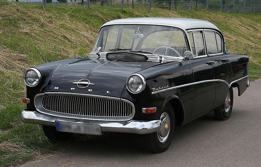 Die kultigsten 3 Modelle des Opel Rekord