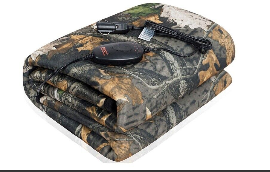 camouflage washable winter warm electric car heated
