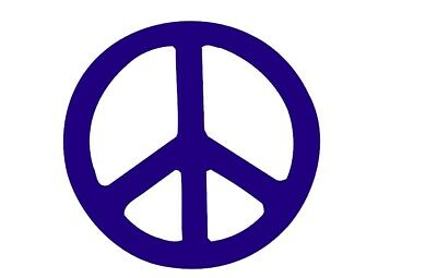 den Zeichen Love 60er 70er Wandtattoo Autoaufkleber NEU (60er Peace-zeichen)