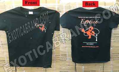 (Exotica Hookah Female Fit Medium M T-Shirt Limited Edition Collectible 2014 )