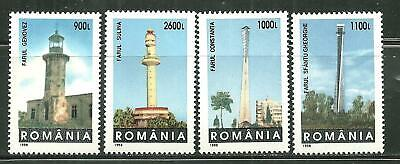ROMANIA 4251-54 MNH LIGHTHOUSES