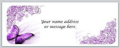30 Personalized Return Address Labels Butterfly Buy 3 Get 1 Free Bo 359