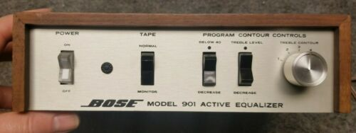Bose 901 Series 1 or 2 Active Equalizer Professionally Cleaned and Tested