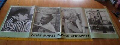 1960's United Methodist anti bullying poster children crying VINTAGE - Anti Bullying Poster