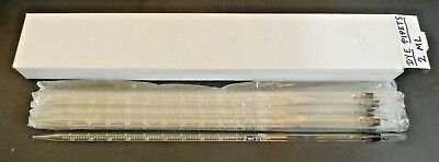 2 Ml By 0.02 Ml New Reusable Pyrex Serological Pipet Pipette - Box Of 10