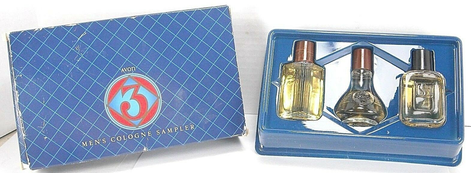 Avon Men's Cologne Sampler Set NIB