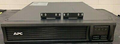 APC2U SMX1500RM2U Smart-UPS X 1500VA LCD Rackmount with AP9630, New Batteries