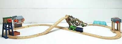Thomas the Train Wooden Track Snowy Mountain Figure 8 Adventure