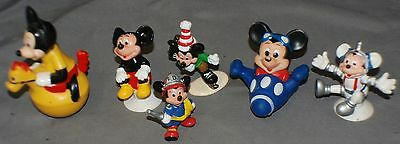 Mickey Mouse Figurines Japan, Gabriel, China Total of 6 Vintage on Rummage