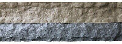 Stone Master Molds Chiseled Edge Concrete Countertop Edge Form Liner 8x6x2