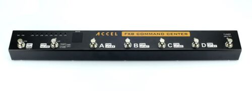 Accel FX8 Command Center 8 Loop Switcher Effects Pedal Controller