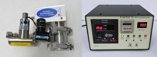 XEI SCIENTIFIC EVACTRON 10 ANTI-CONTAMINATOR RF PLASMA CLEANER DE-CONTAMINATOR