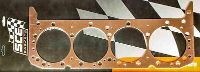 SCE GASKETS P111562 SBC Copper Head Gasket 4.155 x .062