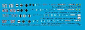 Peddinghaus-1-35-3345-4-SD-COCHE-234-2-Puma-LIBRO-Y-FRENTE-ORIENTAL-1944