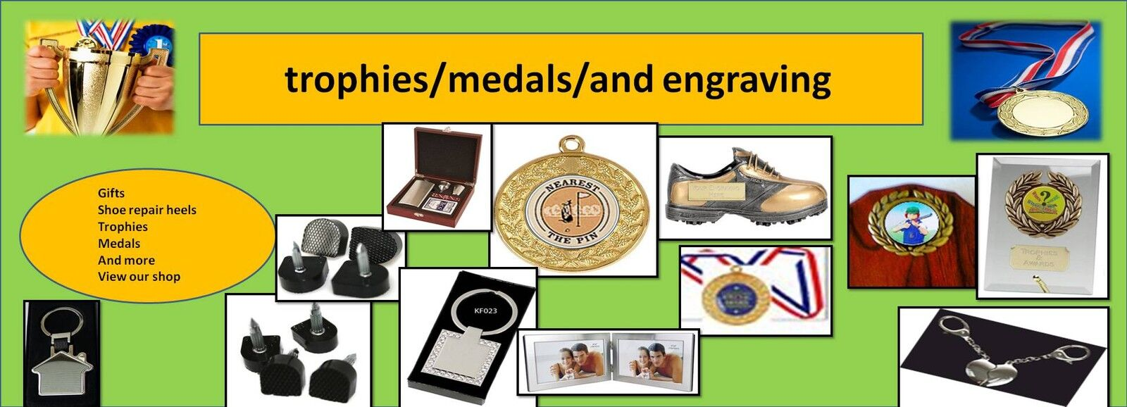trophies/medals/and engraving