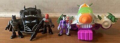 Imaginext Mix Lot 5' Batman,Joker and Redhood.