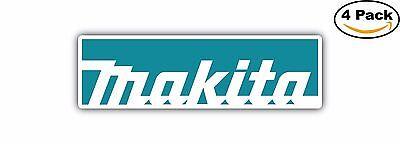 Makita Tools Tool box Decal Diecut Sticker 4 Stickers