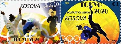 Kosovo Stamps 2021. Olympic Games: Tokyo 2020. Set MNH