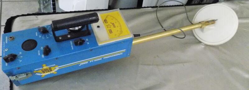 Jetco PT-2000 Metal Detector Gold Star Treasure Finder