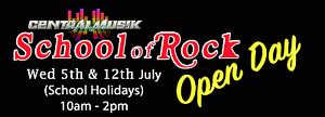 School of Rock Open Day @ Central Musik Maryborough VIC Maryborough Central Goldfields Preview