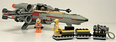 LEGO Star Wars: Episode 4/5/6 X-WING FIGHTER (Set 7140) Complete w/ Minifigures