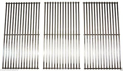 "Kitchen Aid Gas Grill Stainless Steel Set Cooking Grates 31.5"" x 18.8125"" 5S793"