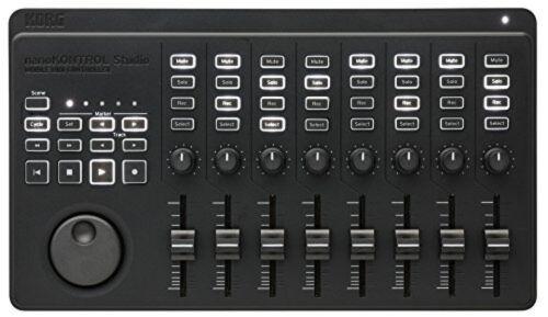 KORG nanoKONTROL Studio Mobile DAW DJ MIDI USB Controller(Black) New