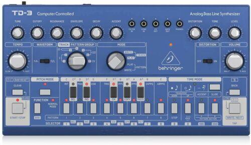 BEHRINGER Analog Bassline Synthesizer TD-3-BU