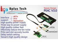 BPlus PE4C V3.0 PCIe x16 Laptop Express Card External eGPU Graphic to PC Monitor Adapter