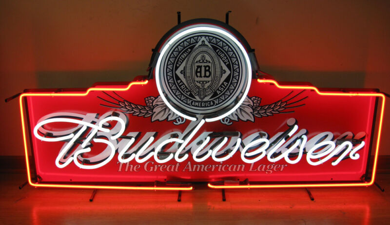 Budweiser The Great American Lager Large Neon Sign