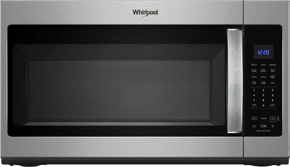 Whirlpool - 1.9 Cu. Ft. Over-the-Range Microwave with Sensor