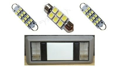 2 Map 1 Dome white LED Interior lights for 1988-1998 Chevy Silverado/GMC - 1998 Lights