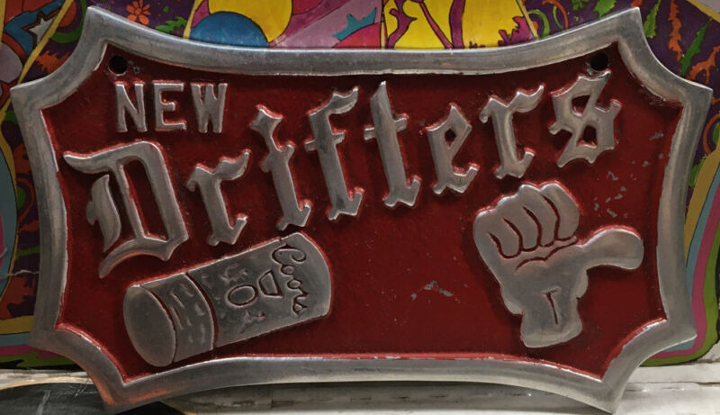 New Drifters Car Club Plaque