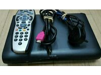 Digital 3D SKY HD multi room box complete with remote control and hdmi cable