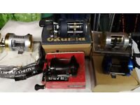 18 multiplier fishing reels beach and boat