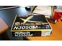 ASRock N3050M M-ATX Intel N3050 Braswell 2DDR3 Motherboard - Brand new